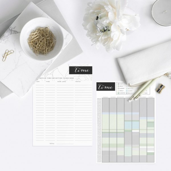 Time analysis planner page