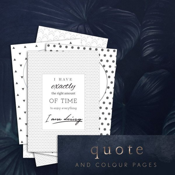 Planner Quotes Set 1