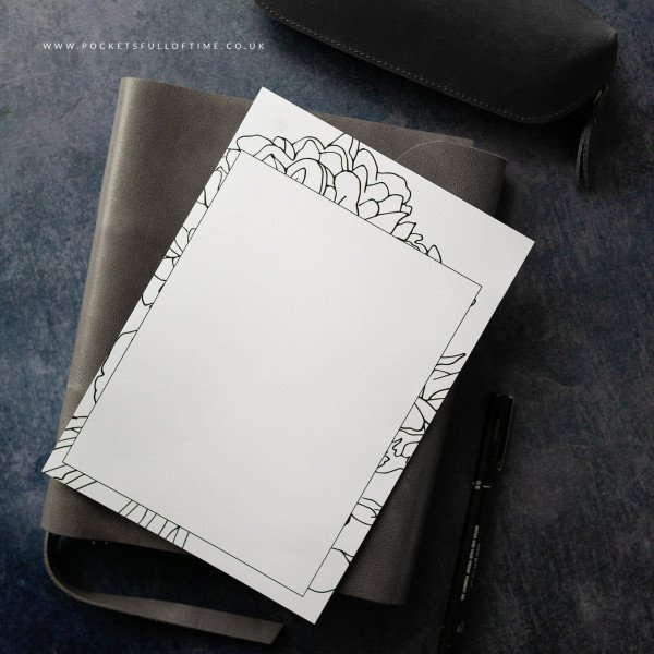 planner printable designed blanks
