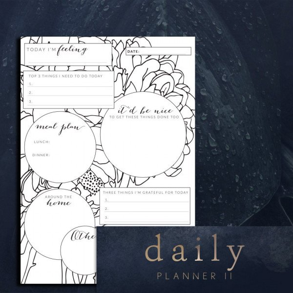 day planner printable II