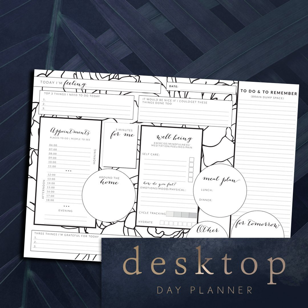 Desktop Day Planner
