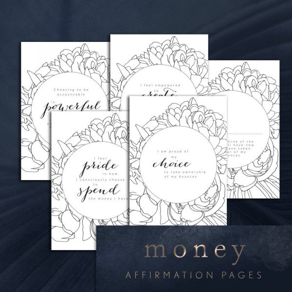 money quotes and affirmations printable
