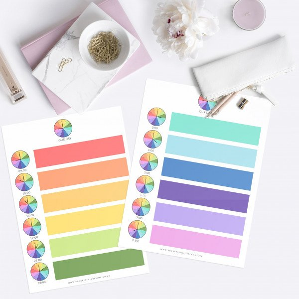 kids-rainbow-daily-rhythm-schedule-printable 9-8